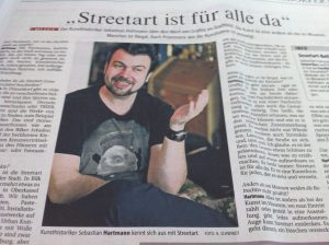 Sebastian in der Rheinischen Post