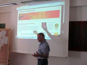 Peter MÜller zeigt meine Website