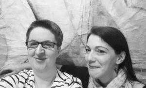 Annette Schwindt und Melanie Kirk-Mechtel