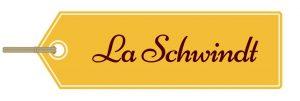 Etikett mit der Aufschrift La Schwindt