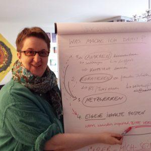 Annette Schwindt erklärt