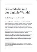 Social Media und der digitale Wandel