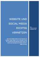 Website und Social Media richtig vernetzen