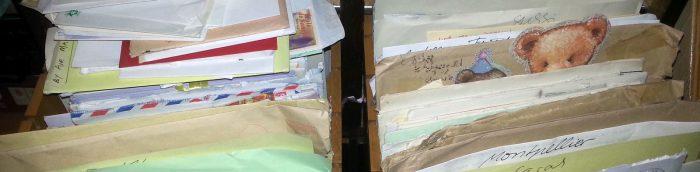 Briefe in der Schublade