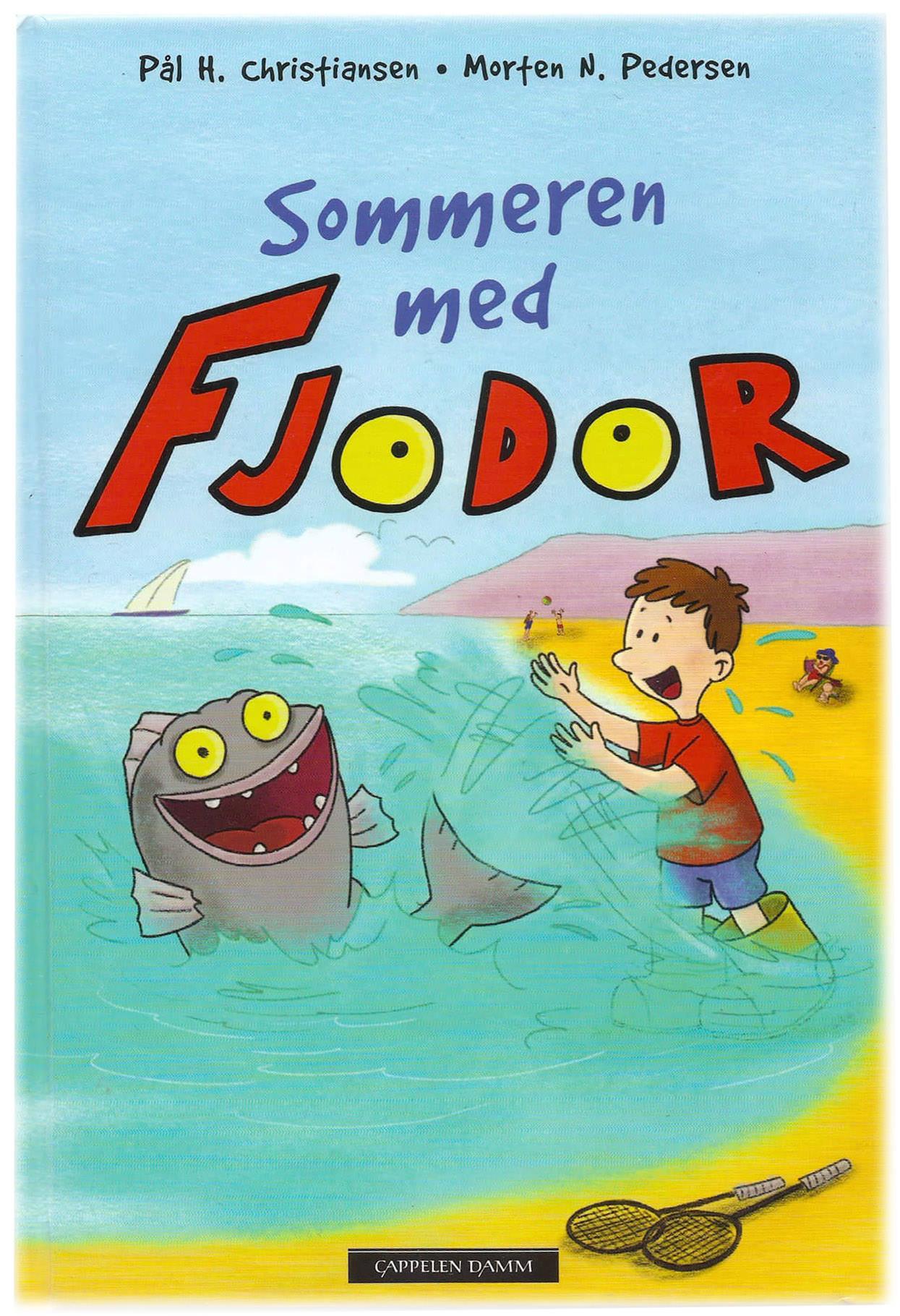Buchcover Sommeren med Fjodor