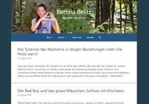 Website von Bettina Belitz