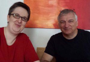 Annette Schwindt und Peter Müller