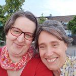 Annette Schwindt und Sabria David