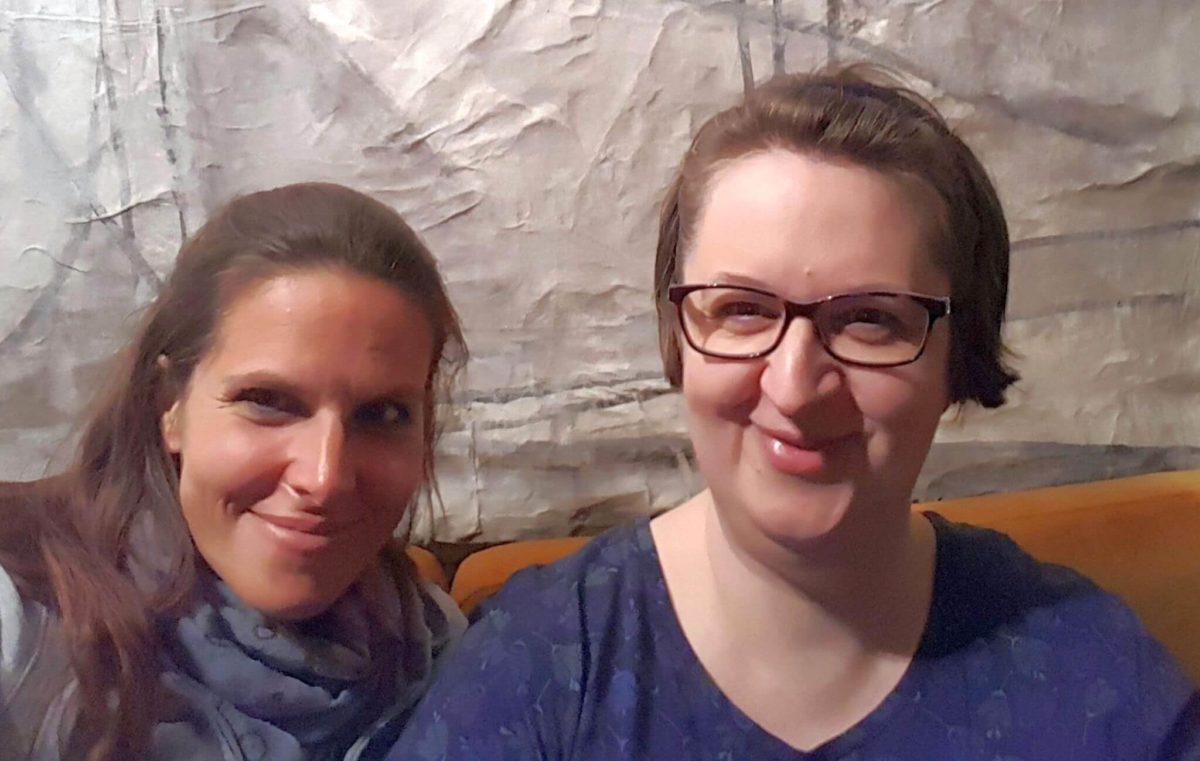 Bettina Belitz und Annette Schwindt