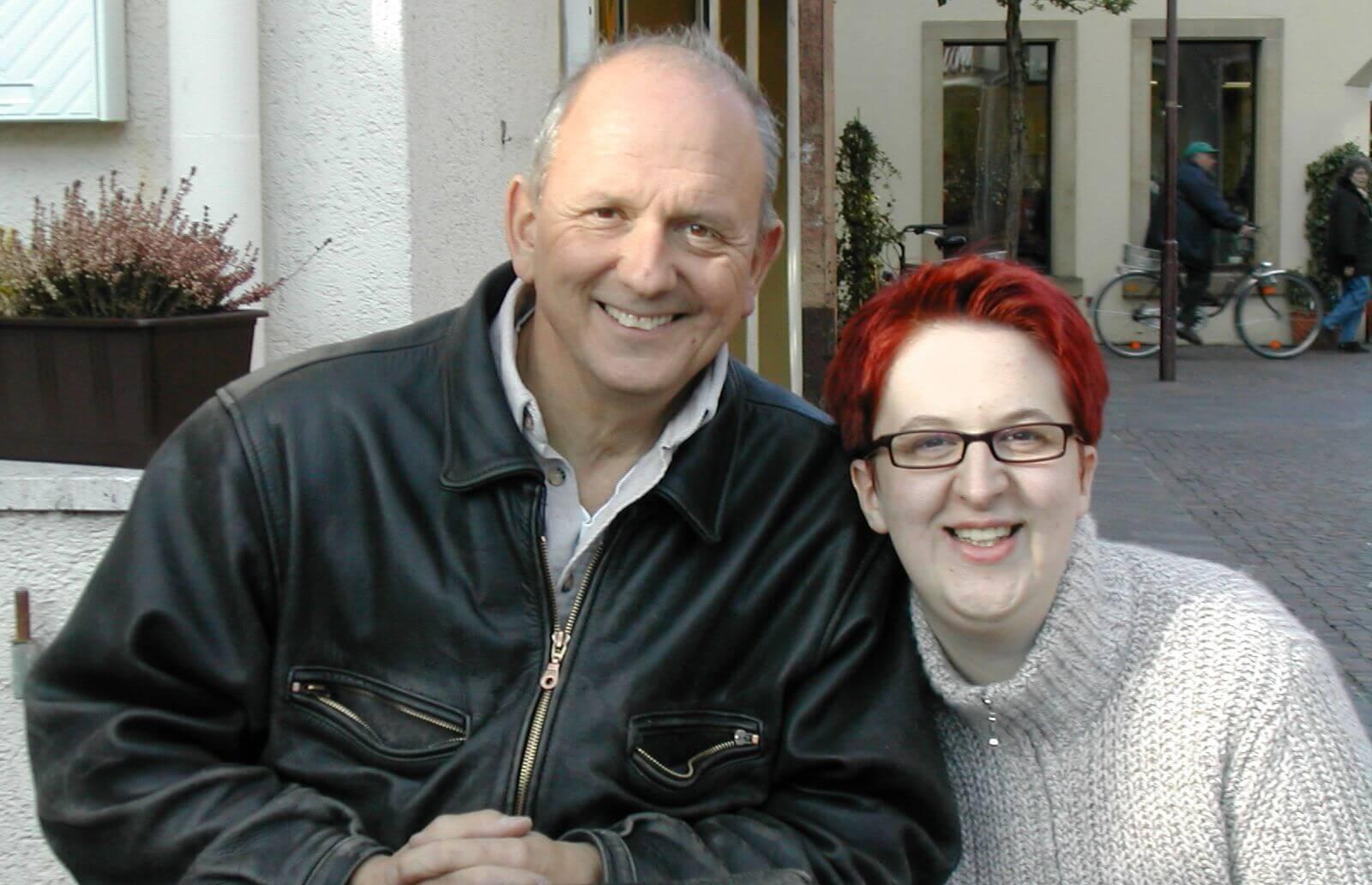 Rasso Bruckert und Annette Schwindt