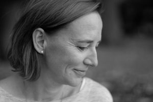 Profil Daniela in Schwarzweiß