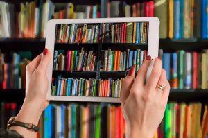 Bücher im Tablet