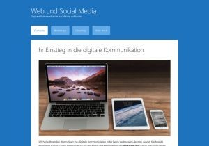 Screenshot webundsocialmedia.de