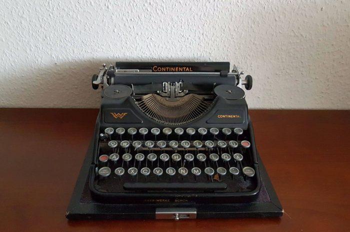 Antike Continental Schreibmaschine