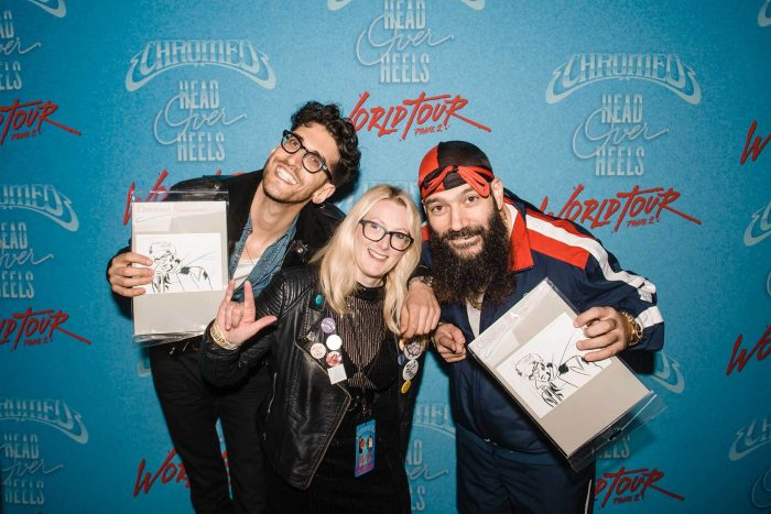 Helen and Chromeo