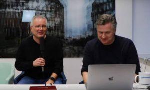 Dr. Lutz Becker und Gunnar Sohn im Livestream der #NEO19x