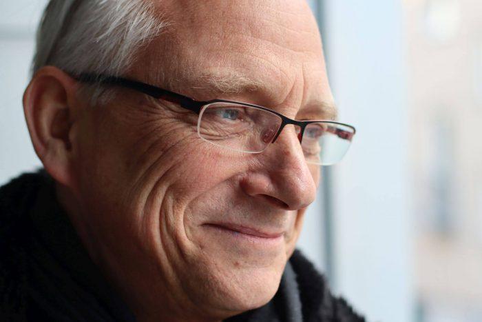 Christian Straube Nahprotrait im Halbprofil