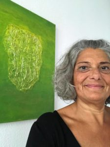Christine mit dem Gemälde