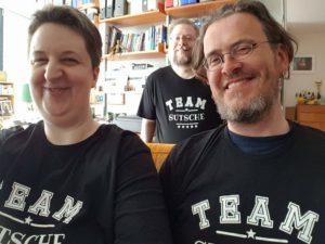 #teamsutsche: Annette, Thomas und Kai bei Kais erstem Besuch in Bonn