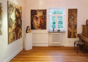 Blick in die Galerie von Martin Eckrich